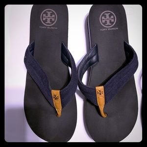 Authentic Tory Burch sandals.